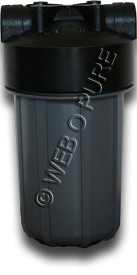 """Porte filtre """"Big Grey"""" 10 pouces E/S 1 pouce"""