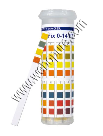 Boite de 100 languettes pour déterminer le pH