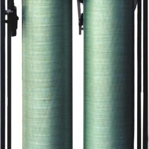 Déminéralisateur d'eau industriel en double colonnes