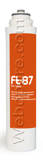 Cartouche FT 87 pour la reminéralisation de l'eau