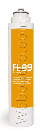 Cartouche FT89 de déminéralisation totale