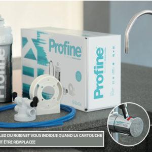 Elements qui compose le kit filtre eau robinet