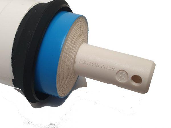 Membrane Filmtec TW30-1812-100 HR 100 GPD Détail tube core