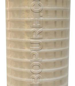 """Cartouche filtrante sédiments 2,5"""" X10'' lavable"""