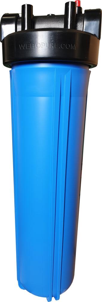 """Carter filtre 20"""" BIG BLUE E/S 1"""""""
