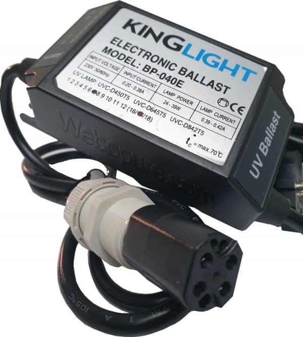 Ballast électronique pour UVc 24-39 Watts